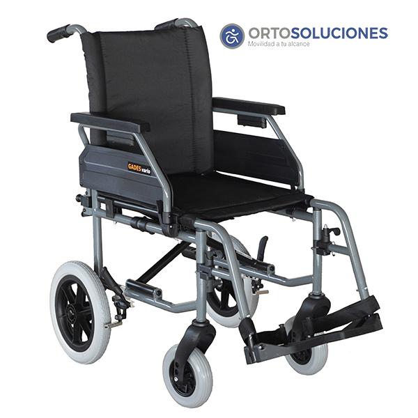 Silla de ruedas  acero GADES VARIO ruedas 300 mm