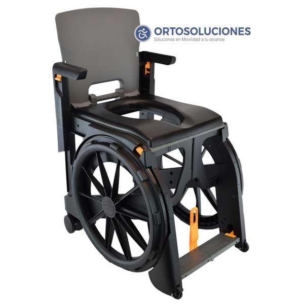 Ducha Wheelable De Soluciones Plegable Silla Orto jSMpLqUVGz