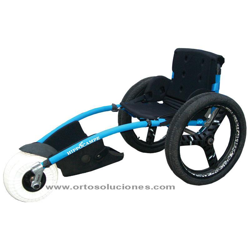 Silla de ruedas anfibia HIPPOCAMPE