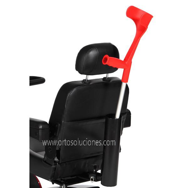 Porta bastón para sillas eléctricas ayudas dinamicas
