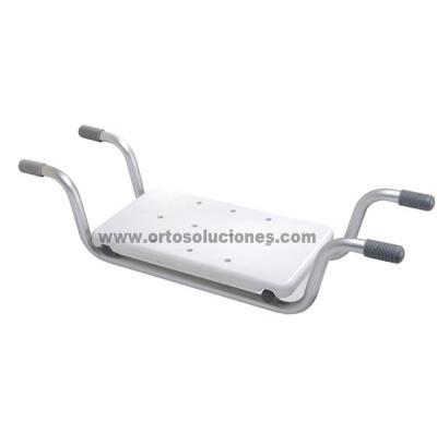 Asiento aluminio para bañera
