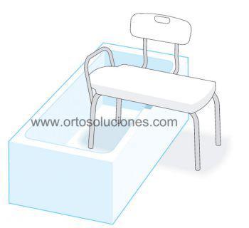 Banco para bañera Ad539