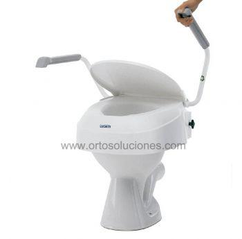 Elevador Wc ajustable reposabrazos