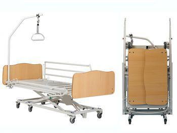 Cama carro elevador Xpress II plegable y transportable