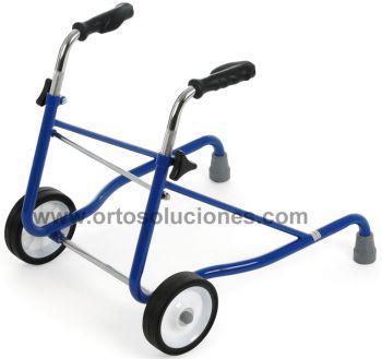 Caminador infantil acero