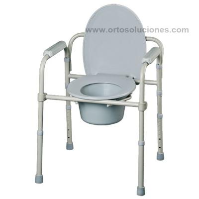 Silla de WC plegable CASA