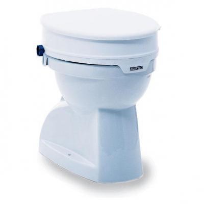 Elevador WC 10 cm con tapa Invacare
