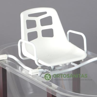 Asiento inoxidable giratorio