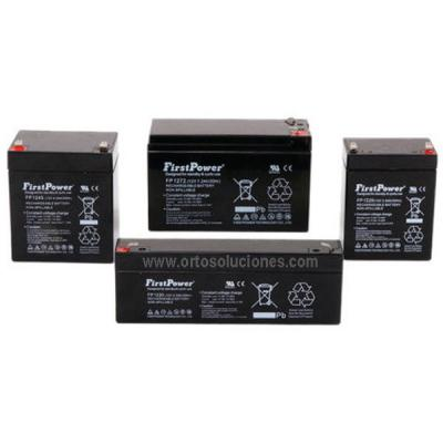 Baterías grúa eléctrica AGM 12V 7,2 Ah par
