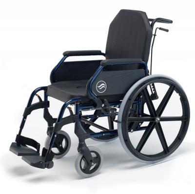 Silla fija BREEZY HOME ruedas 24 respaldo reclinalbe