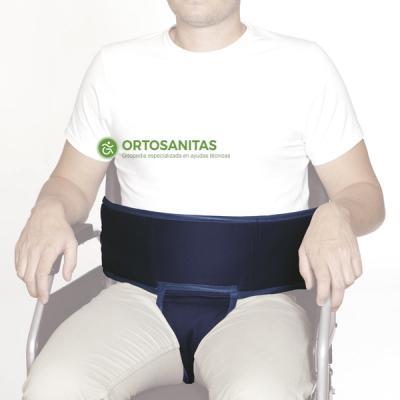 Cinturón de sujeción abdominal y perineal