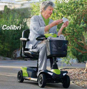 Scooter desmontable COLIBRI