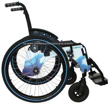 Silla de ruedas para la playa TRIAL de FORTA