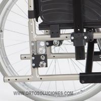 Silla de ruedas de aluminio GADES AKTIV ruedas 600 mm