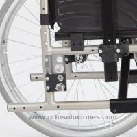Silla de ruedas de aluminio GADES GAP ruedas 300 mm