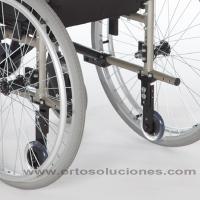 Silla de ruedas de acero GADES VARIO ruedas 300 mm