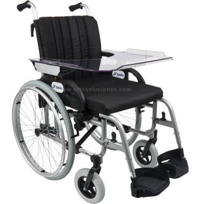 Mesa para silla de ruedas regulable