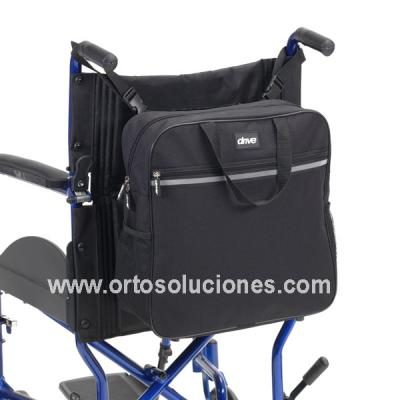 Mochila trasera para silla de ruedas