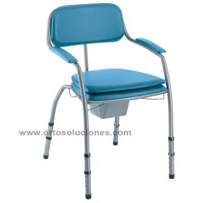 SILLA WC OMEGA PATAS REGULABLES
