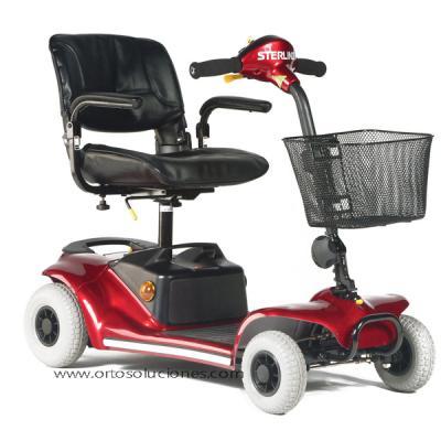 Scooter eléctrico Pearl 4 ruedas