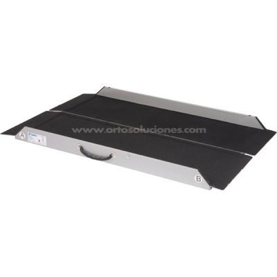 Mono rampa aluminio plegable