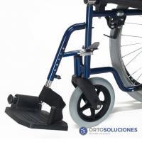 Silla de ruedas acero Breezy 90 ruedas 600 mm