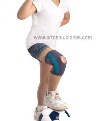 Rodillera pediátrica con flejes ORLIMAN