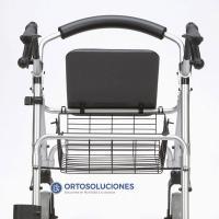 Rollator aluminio Ergo