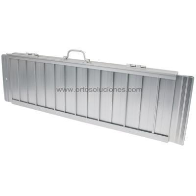 Rampa SC aluminio plegable