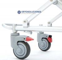 Silla de ducha plegable con ruedas NEW VICTORIA