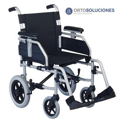 Silla de ruedas de acero APOLO ruedas 300mm