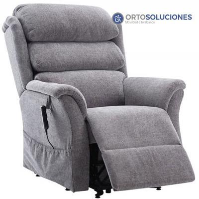 Sillón Relax Hamble gris