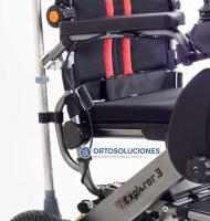 Silla de ruedas eléctrica plegable EXPLORER 3 PLUS