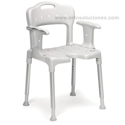 Silla ducha SWIFT  con reposabrazos