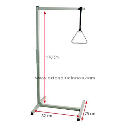 Trapecio desmontable a base