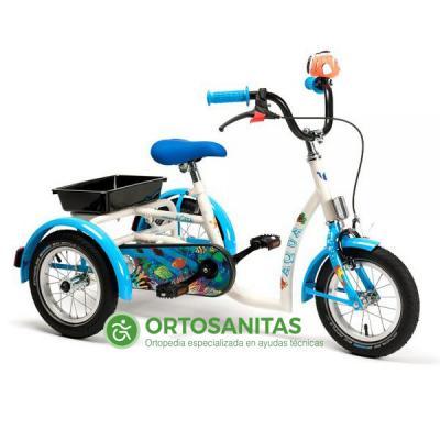 Triciclo infantil AQUA